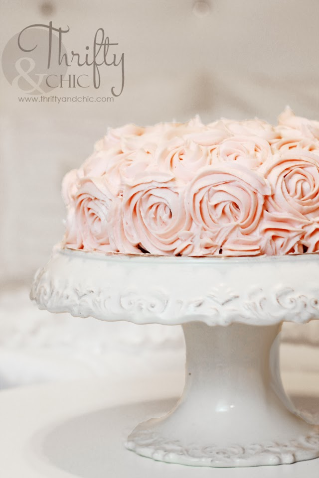 Rosette Cake Tutorial -Easy Beginner tutorial from a beginner