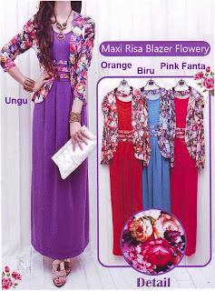 Maxi Risa Blazer Flowery