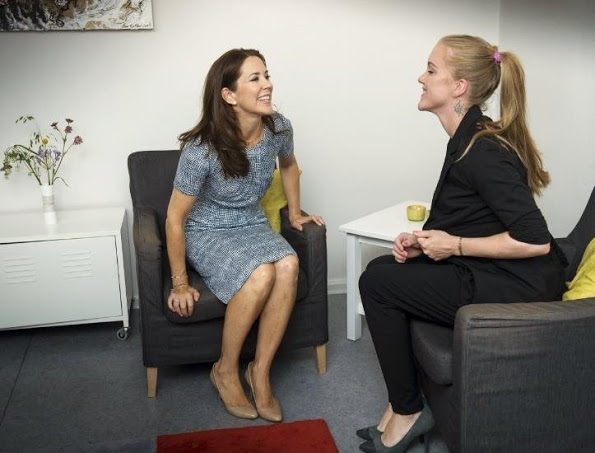 Crown Princess Mary Of Denmark Visits TUBA