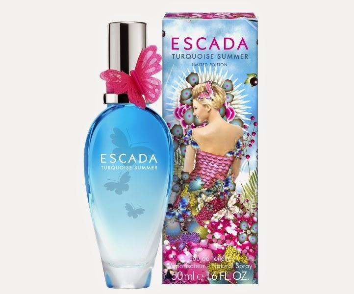 ESCADA Turquoise Summer EDP, Let Your Spirit Run Free, Fragrance, Escada, Summer scent, Turquoise Summer