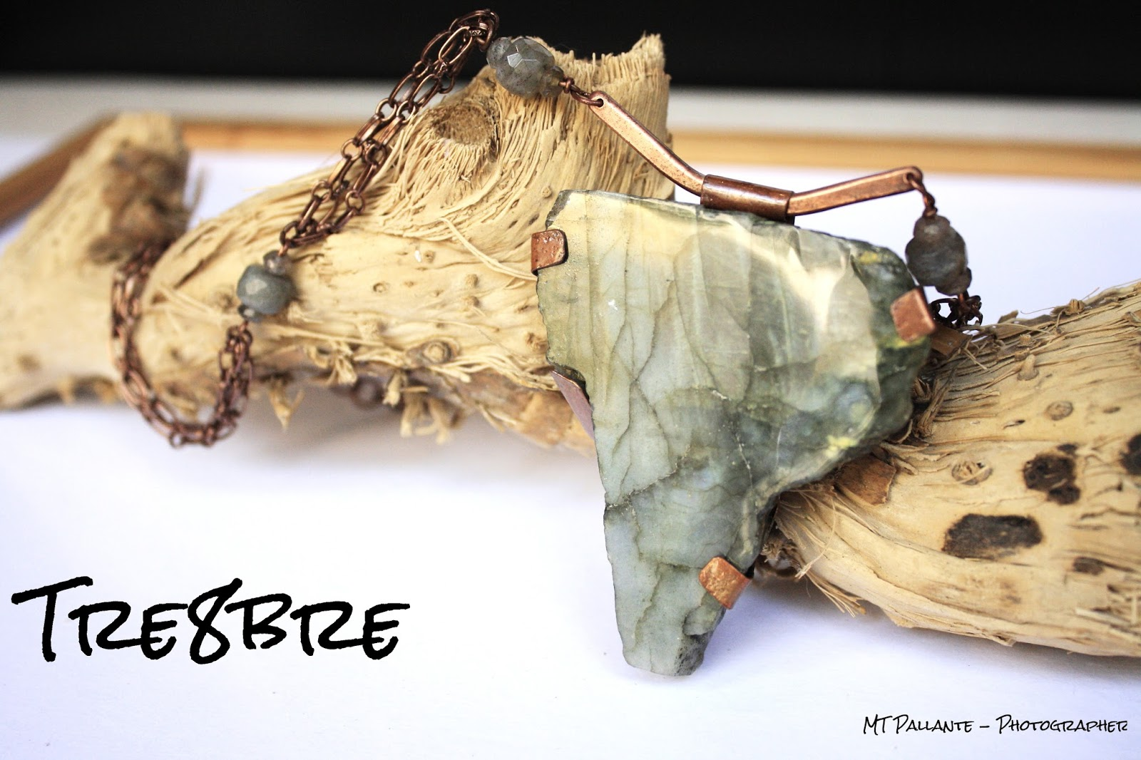 Africa - Labradorite and Copper by Tre8bre