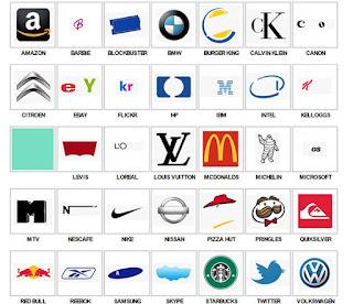 juego de logos marcas iconos