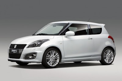 2012 Suzuki Swift Sport More Aggressive and Dignity