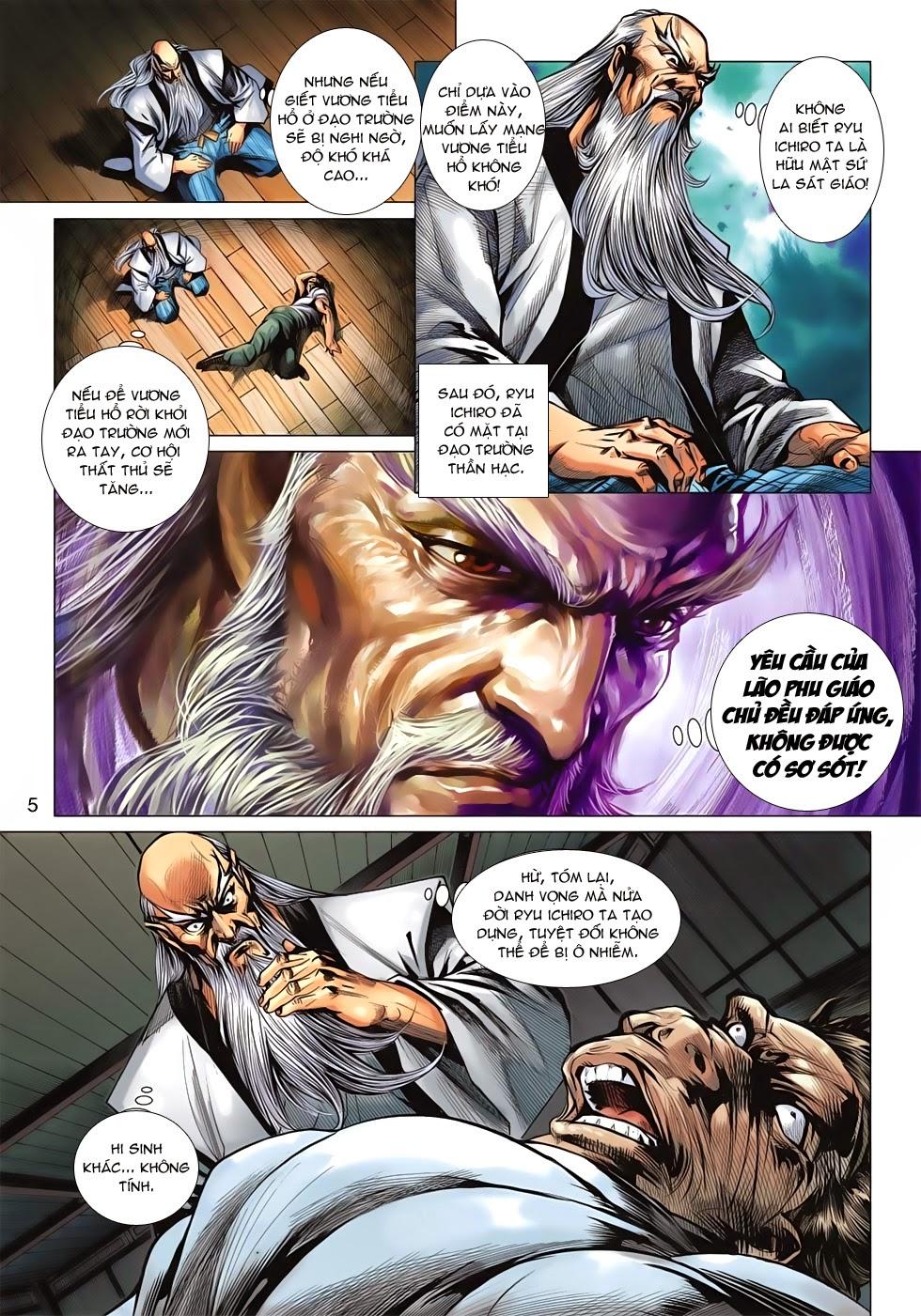 Tân Tác Long Hổ Môn chap 643 - Trang 5