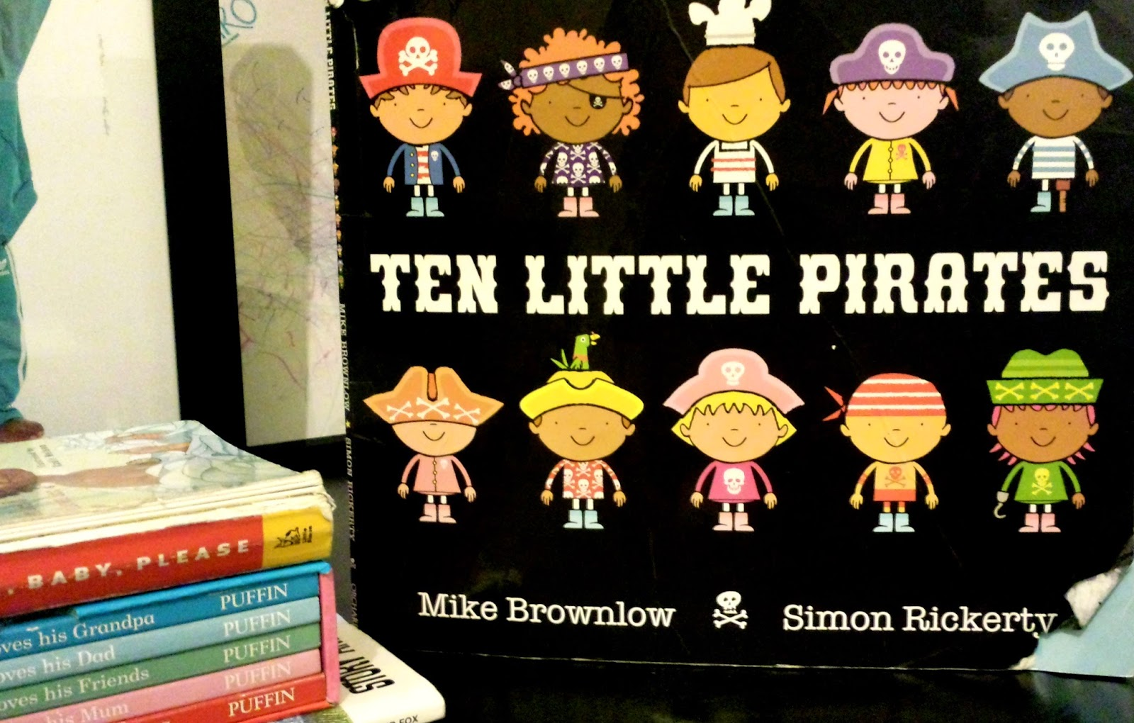 Ten Little Pirates - Mellies Corner