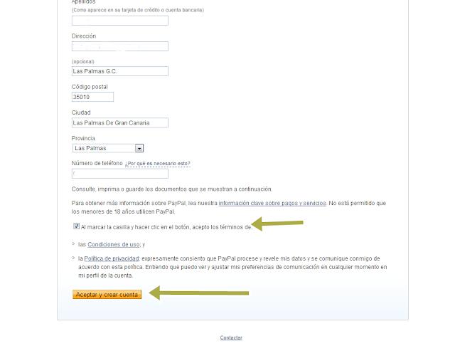 como crear una cuenta en paypal 4