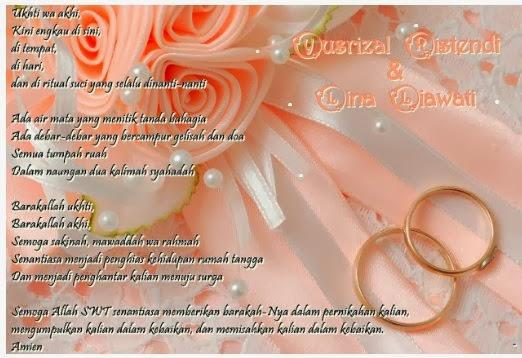 Wallpaper Berbagai Contoh Gambar Kartu Ucapan Pernikahan