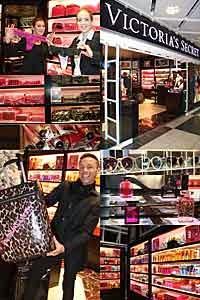 Victorias Secret Store am Münchner Flughafen Neueröffnung am 06.12.2013