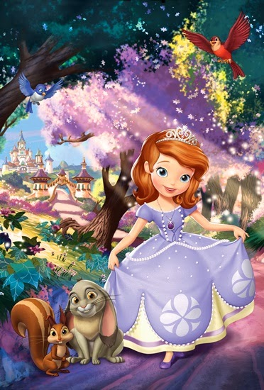 Disney Sofia the First Once Upon a Princess