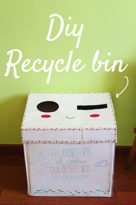 lauryn green diy recycle recicled bin. Black Bedroom Furniture Sets. Home Design Ideas