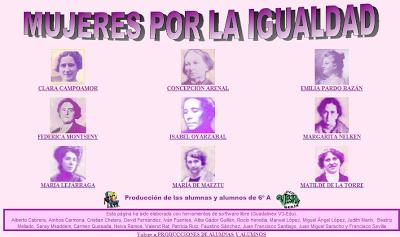 http://www.juntadeandalucia.es/averroes/ceip_san_tesifon/producciones/a_mujeres_igualdad/index.html