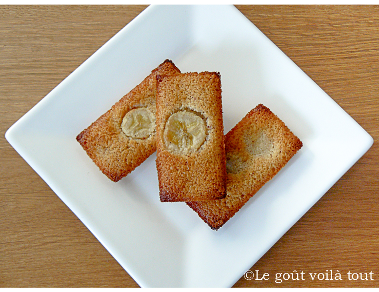 Financiers à la banane