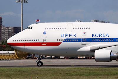 korea government 747 philippines
