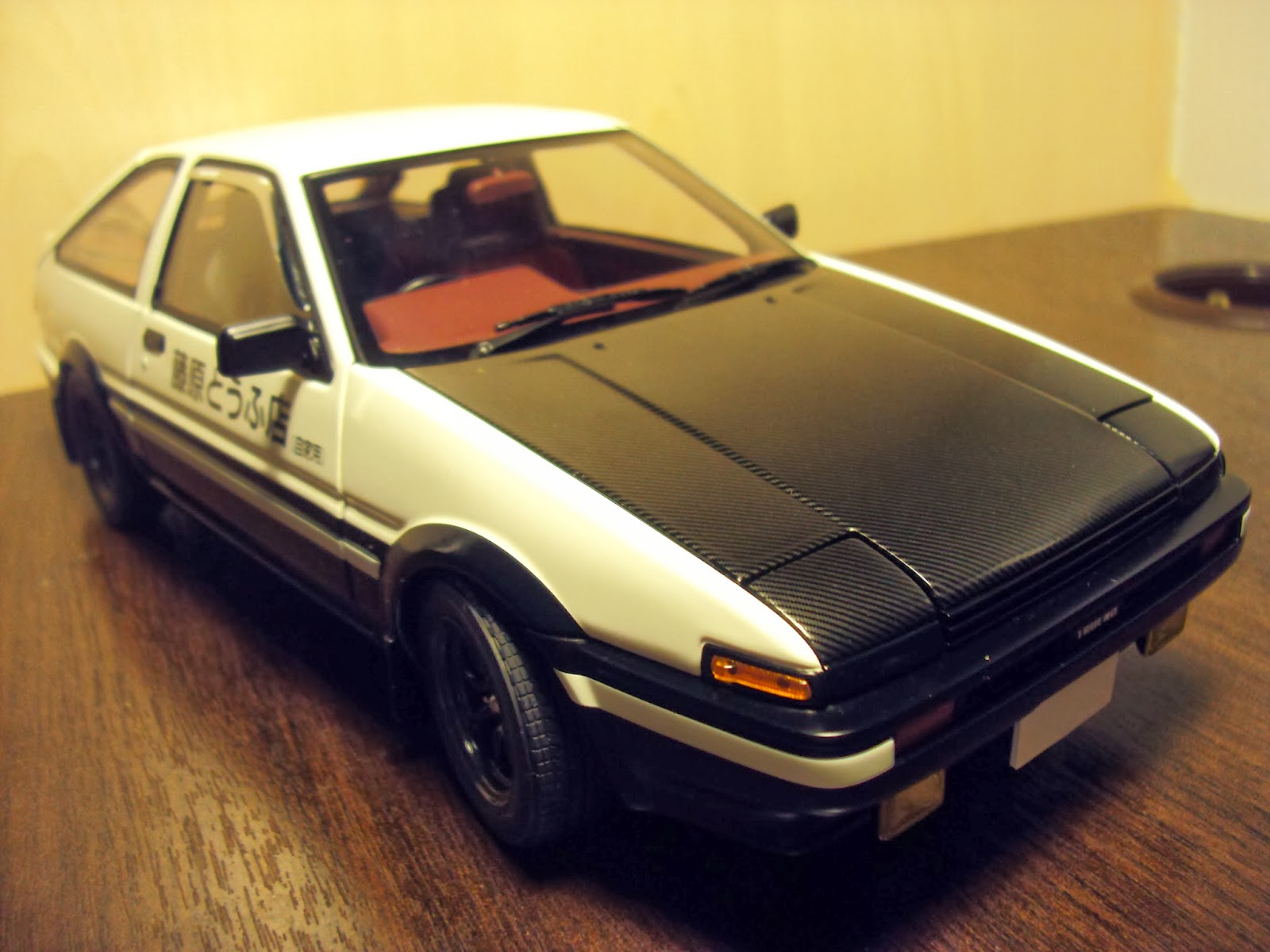 pt autoart initial d project d toyota trueno sprinter ae86. Black Bedroom Furniture Sets. Home Design Ideas