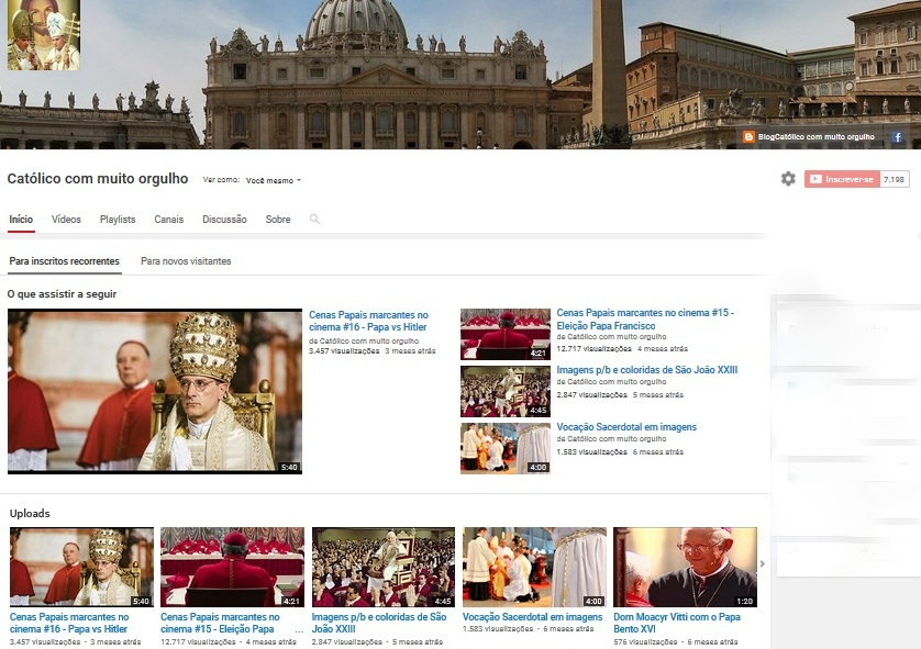 Visite nosso canal no YouTube!