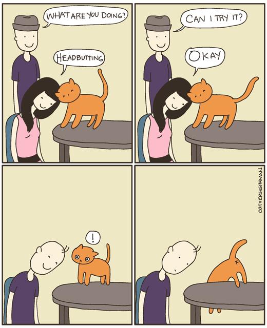 cole and marmalade cat logic