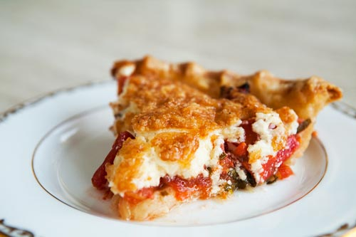 Homemade Philadelphia Tomato Pie-Style Pizza Recipes — Dishmaps