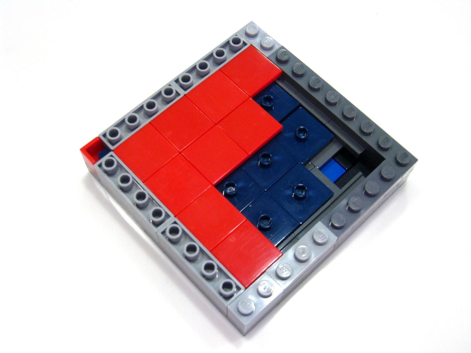 Lego 4 Blue 1x8 Finishing tile NEW