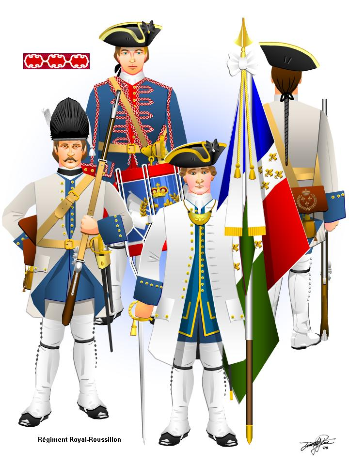 French And Indian War Provincial Uniforms Images of french syw line