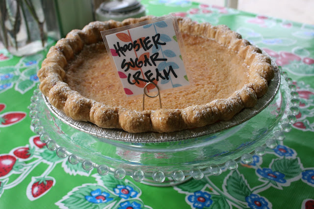Hoosier Mama's Hoosier Sugar Cream Pie