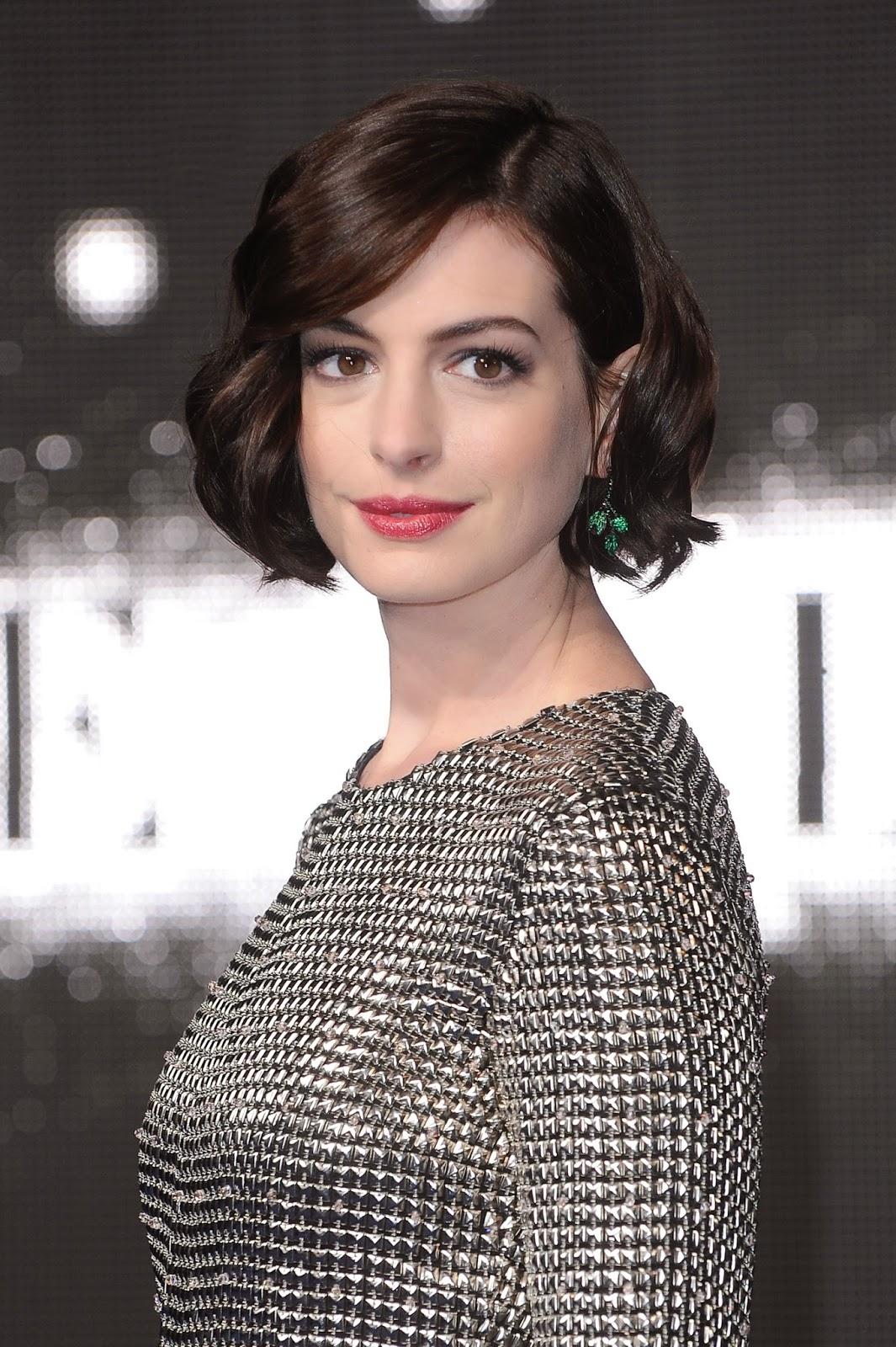 US actress Anne Hathaway Anne Hathaway