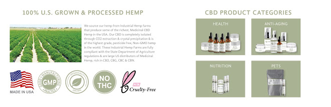 CTFO Associate Robert Frank Steele(Bobebuzz) Front Page Hemp Oil Product E-Commerce Store Pic.
