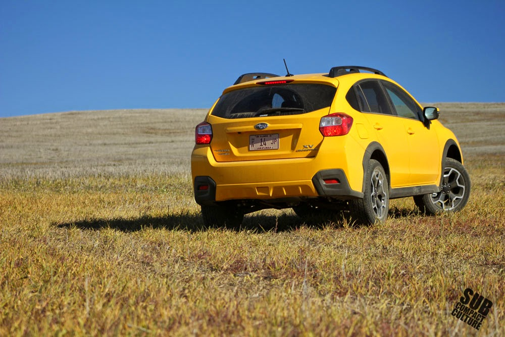 2015 Subaru XV Crosstrek Limited Edition rear