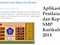 Aplikasi Penilaian dan Raport SMP Kurikulum 2013