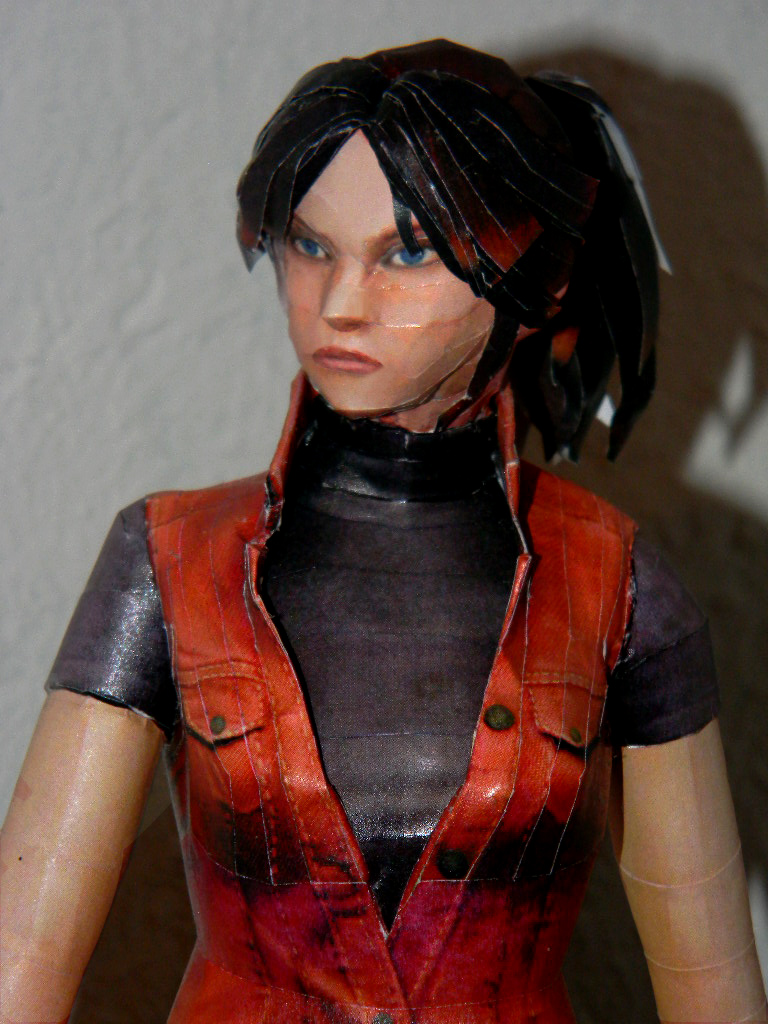 Claire Redfield Papercraft