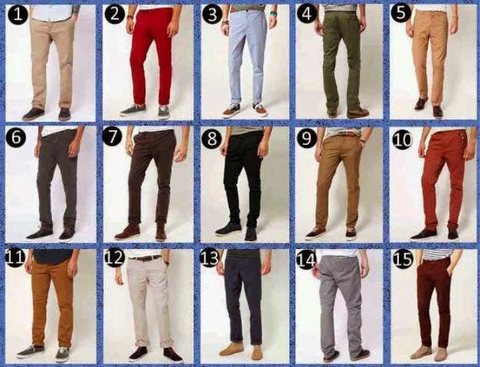 Pilihan Warna Celana Chino