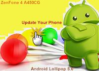 Android lollipop zenfone 4 a450cg