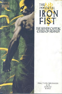 The Immortal Iron Fist: The Seven Capital Cities of Heaven - 365 Days of Comics
