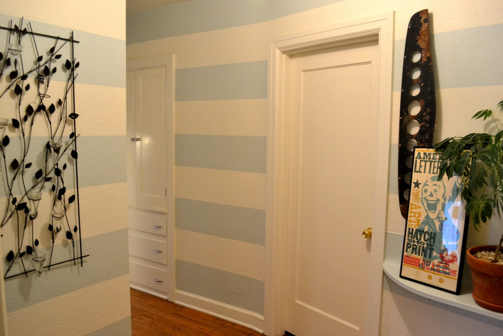 a home in the making: {renovate} stripes!