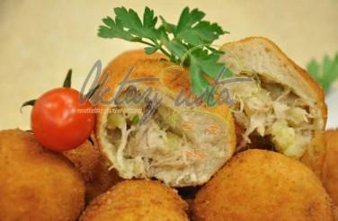 Patatesli Tavuklu Lokma Börek Tarifi