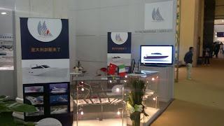 stand international boat show panarella design