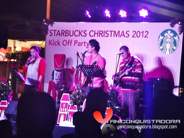 Starbucks Christmas 2012 Kick Off Party in Bonifacio Global City