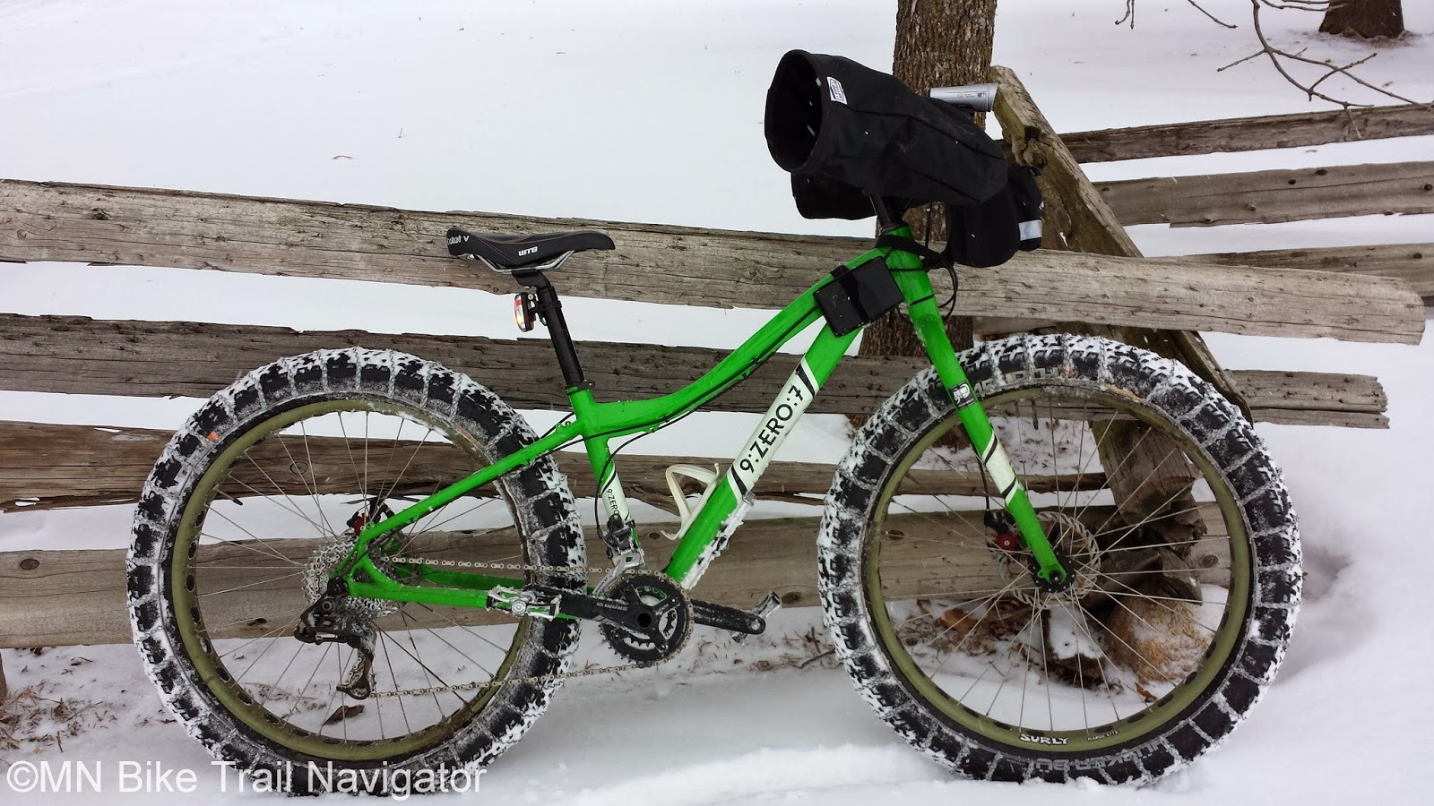 Mn Bike Trail Navigator Product Review Slipnot Traction Systems