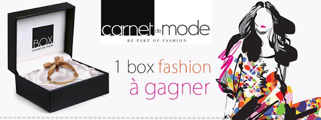 Concours Carnet de Mode et Mademoiselle Bons Plans: 1 box fashion à gagner