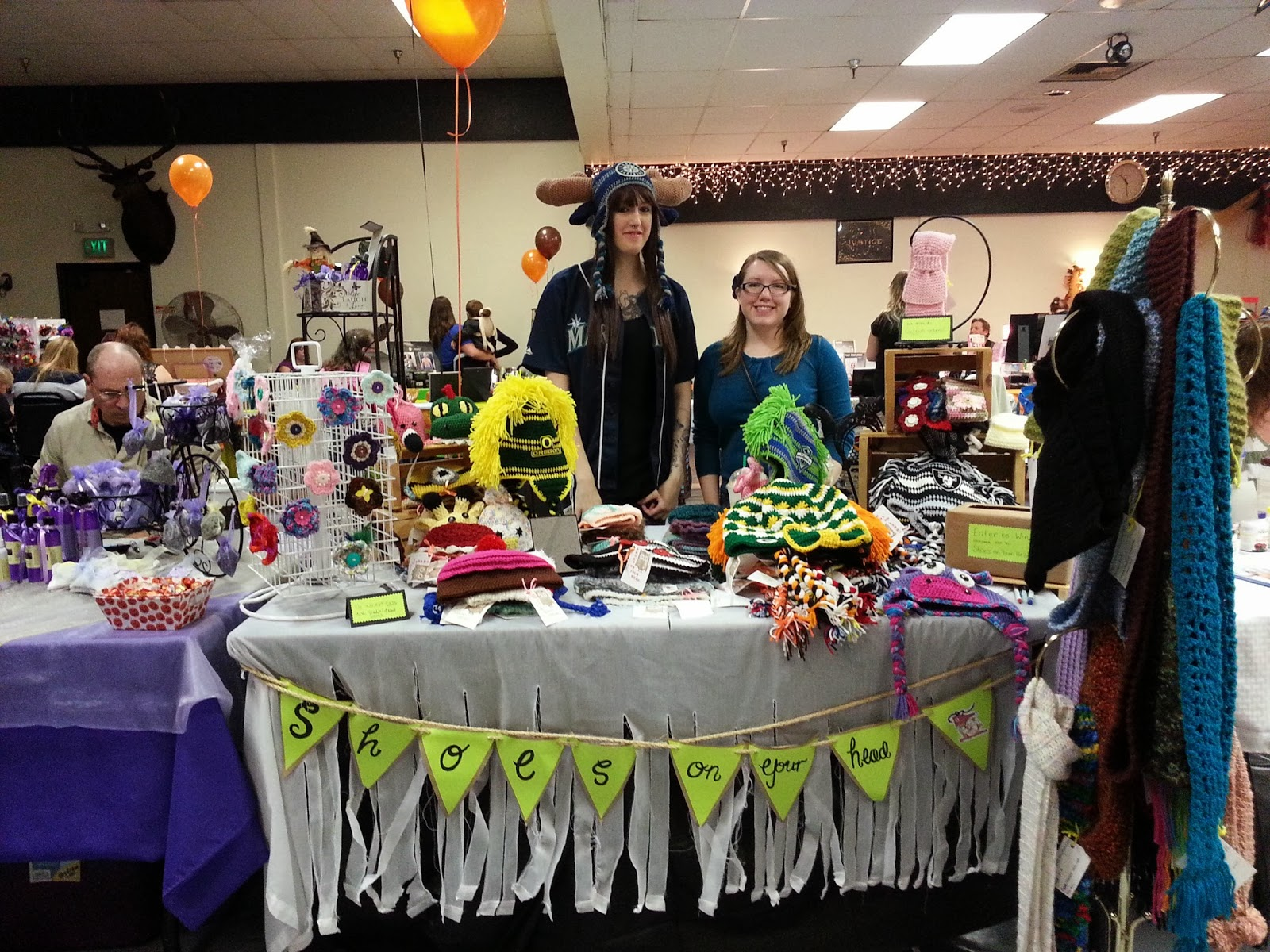 April Sprinkles My First Craft Fair With