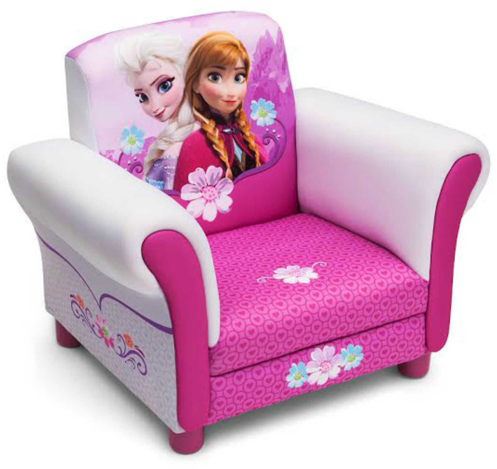 Kids chair princess png - A Cool Chair Fit For A Snow Queen This Frozen Upholstered Chair From Delta Children Will Cast A Stylish Spell On Your Girl S Room