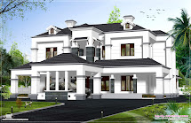 Victorian Model House Exterior - Kerala Home Design And