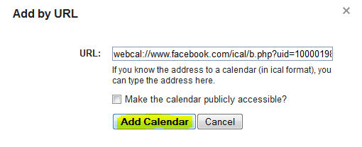 Get Facebook Birthday Notifications via SMS
