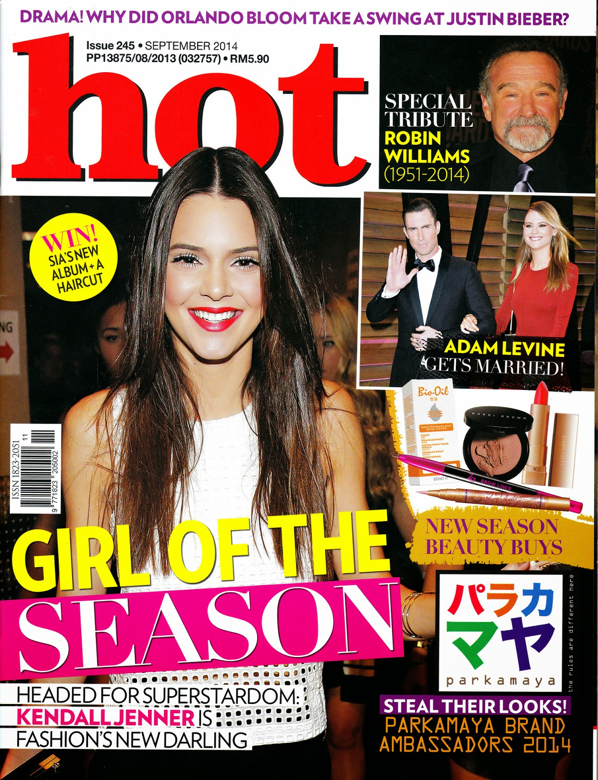 Adventures of Angel and Moe Tails: Angel in hot magazine September 2014
