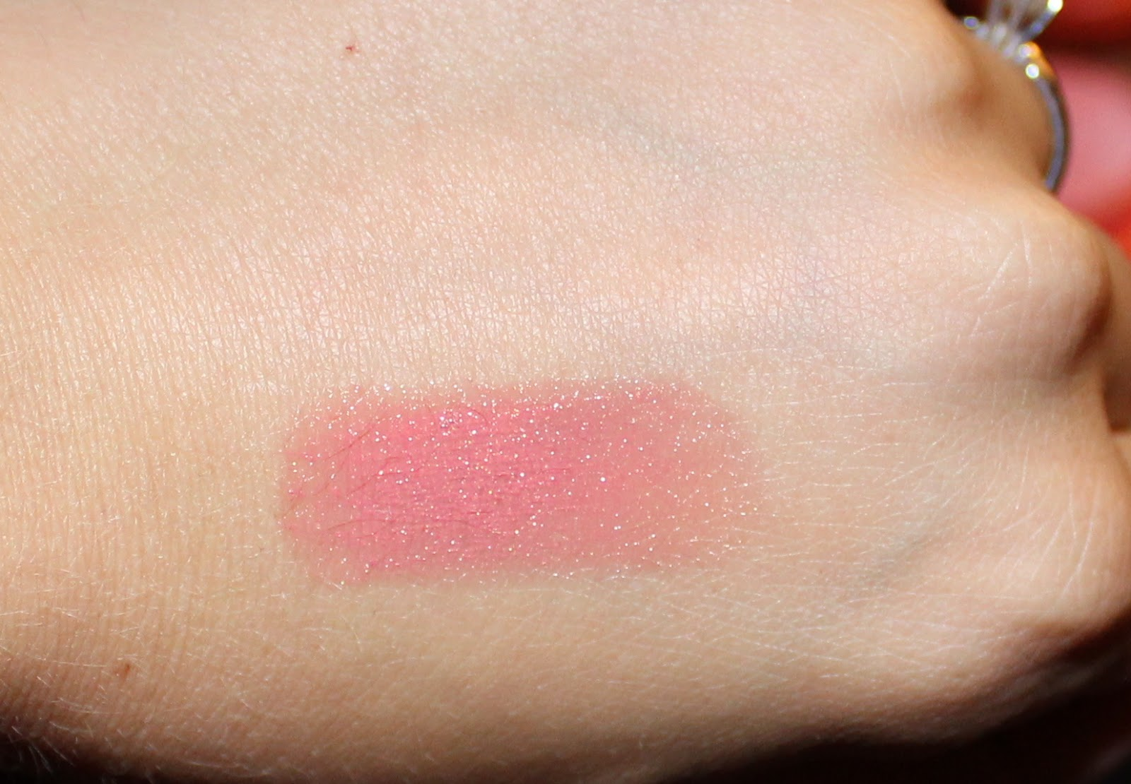 Bobbi Brown Sheer Lip Color in Peach Sorbet Swatch