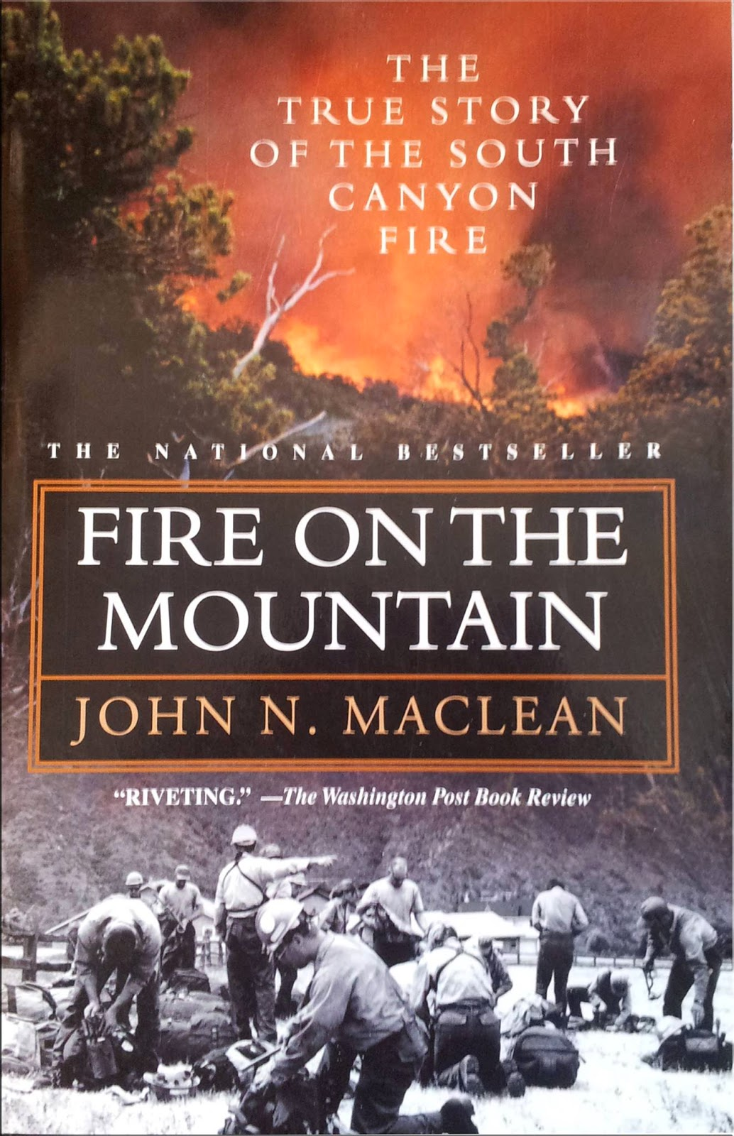 """Fire on the Mountain"" cover"