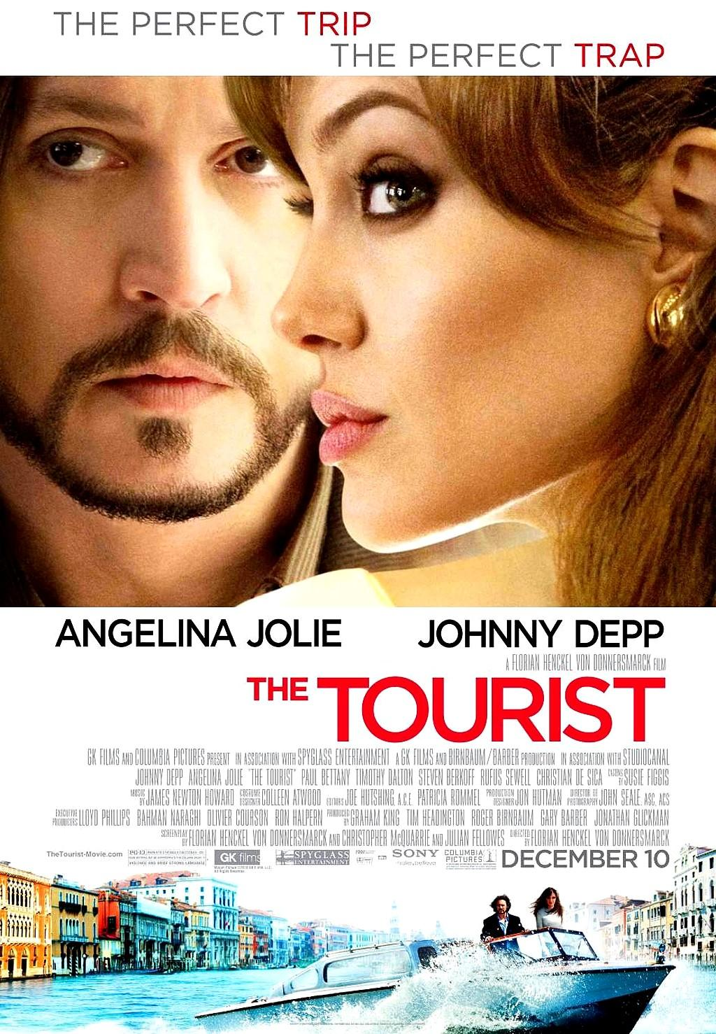Xem phim Du Khách Bí Ẩn - The Tourist 2010