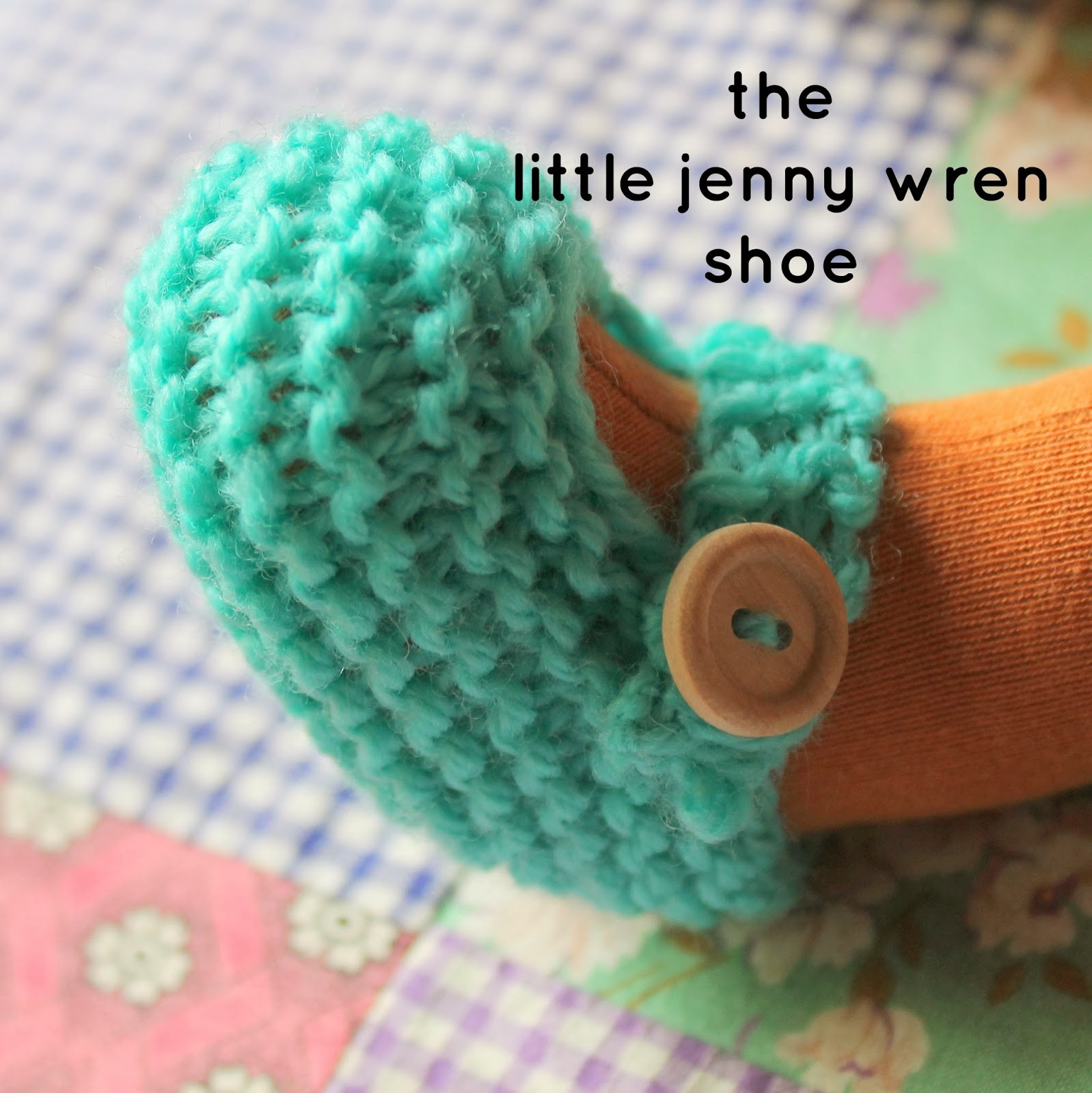 Knitting Jenny Basics : The little jenny wren shoe a simple knitted doll