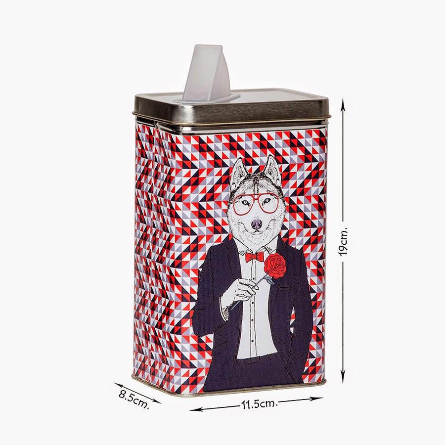 instinto animal latas rectangulares de 11 5 cm x 8 5 cm x. Black Bedroom Furniture Sets. Home Design Ideas