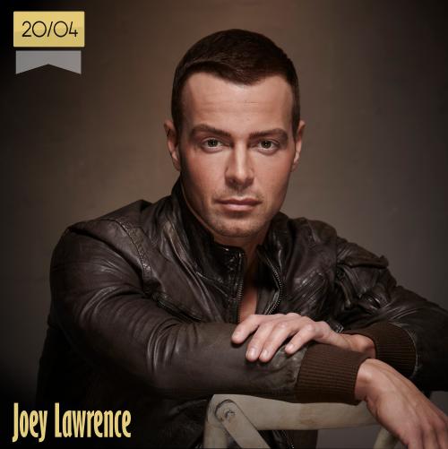 20 de abril | Joey Lawrence - @joeylawrence | Info + vídeos