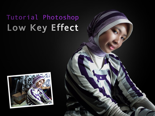 tutorial photoshop cs3 low key